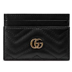 Gucci GG Marmont Matelasse Credit Card Case
